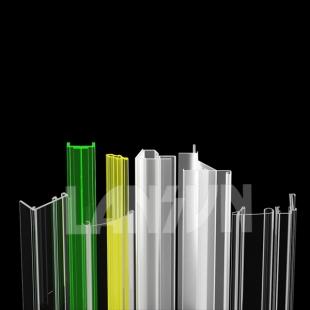 Plastic display profiles