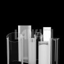 Custom plastic tube
